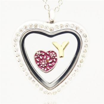 Glass locket pendantleading fashion jewelry manufacturer china glass locket pendant home pendant necklaces glass locket pendant mozeypictures Choice Image
